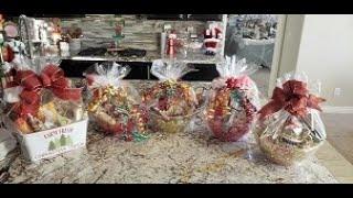 Easy Christmas Gift Baskets