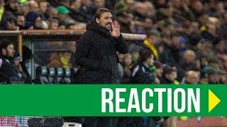 Norwich City 1-0 Swansea City: Daniel Farke Reaction