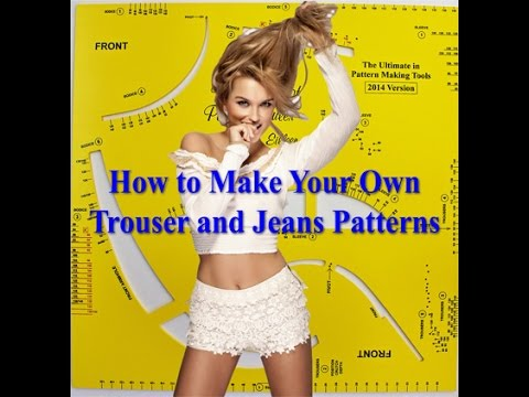 How to Make Trouser Patterns Easily