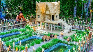 Collect Abandoned Puppy From Cave And Build Great Ancient Mud Dog House