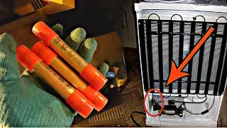 Смотреть онлайн Как заменить осушительный фильтр в холодильнике