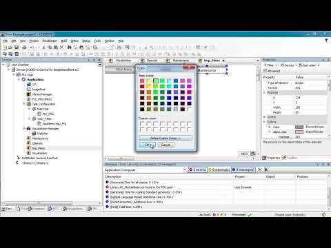 Codesys 3 5 WebVisu & User Access Tutorial - Kurt Braun