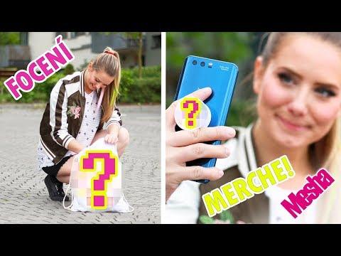 JAK VYPADÁ FOCENÍ NOVÉHO MERCHE? - MESHA TOPMODELKOU! :D