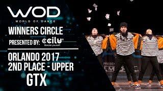 GTX | 2nd Place | World of Dance Orlando 2017 | Winners Circle | #WODFL17
