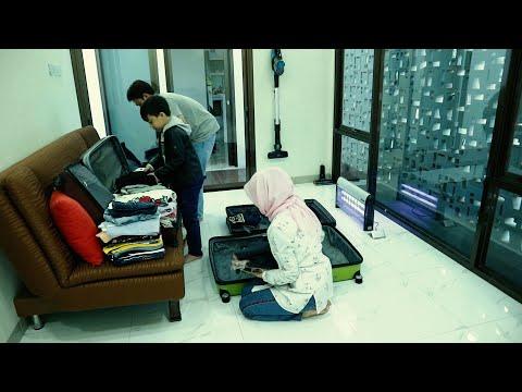 DRAMA | Packing Pakaian Jeevan Persiapan Liburan Menginap di Hotel ⭐ 5