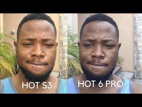 Infinix Hot 6 Pro Camera Vs Hot S3
