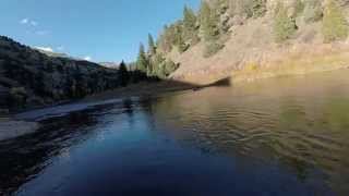 Six Mile Gap on the North Platte, Trout Fishing with H Warren Fly Fishing