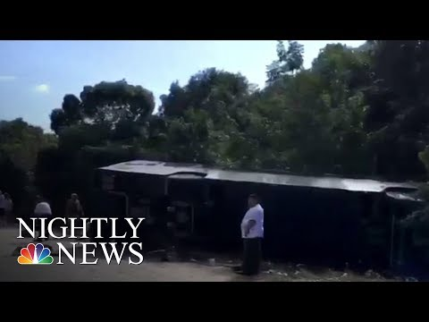 Royal Caribbean Tour Bus Crashes In Mexico, Killing 12 | NBC Nightly News