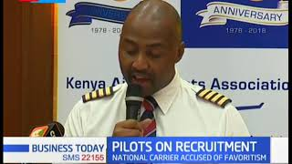 KQ accused of favoritism in its recruitment of pilots | Business Today