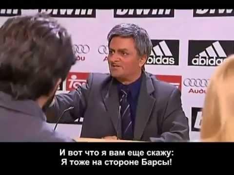 Crackovia {RUS SUB} - Mourinho's excuses machine (all for Barca).mp4