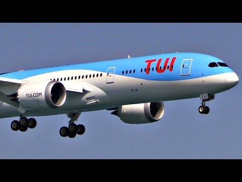 TUI/Thomson First 787-9 Dreamliner | First Landing & Takeoff @ LCA, Cyprus | Plane Spotting