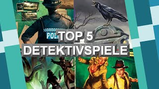 Top 5 Detektivspiele