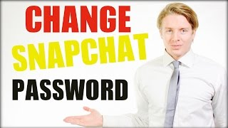 How to change Snapchat password 2016 Tutorial