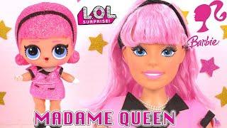 Barbie Tête à Coiffer en Poupée LOL DIY Dreamtopia Styling Head