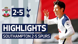 HIGHLIGHTS | SOUTHAMPTON 2-5 SPURS | Heung-min Son scores FOUR at St Mary's