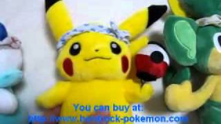 Drilbur  - (Pokémon) - Pokemon Center Fukouka Grand Opening Pikachu Pansage Oshawott Plush Toys Plushie