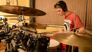 The Dollyrots - Hyperactive (Drum Cover/Improv)