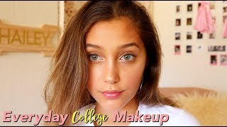 Everyday COLLEGE Makeup Routine: HOW I GET THAT GLOW