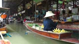 preview picture of video 'Floating Market, Bangkok,Thailand, Damnoen Saduak.mov'