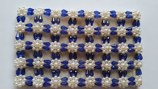 How to Make Beaded /Crystal Purse ||Clutch||Hand bag||Pearl purse |Design 25|Nomi.Namita crafts|