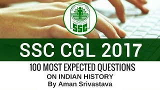 SSC CGL MCQ's on Indian History - 100 Most Predicted (81-100) By Aman Srivastava