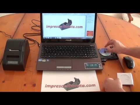 INTALACION Y PRUEBA IMPRESORA TICKETS TERMICA USB RJ11 POS58 (www.impresoraticketstermica.com)