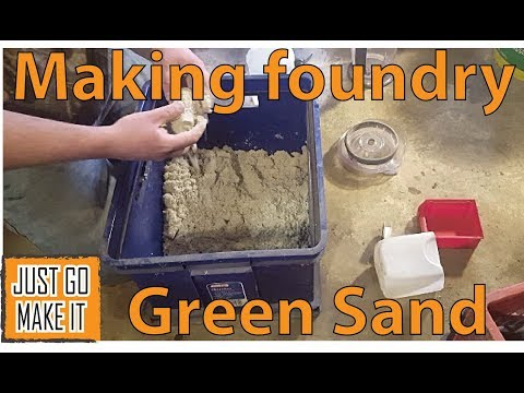 Download Making Greensand At Home For Metal Casting Video