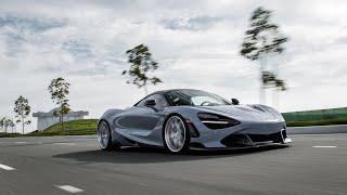 Slammed 800whp McLaren 720s w/ Titanium Exhaust