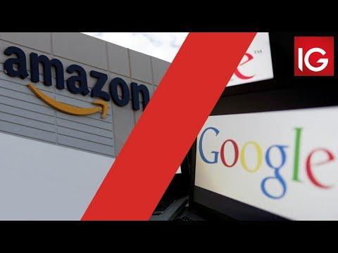 Amazon vs Google | Battle of the tech giants