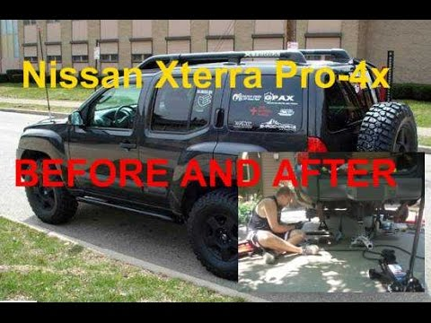 Reincarnation Nissan Xterra Pro-4x: BEFORE AND AFTER