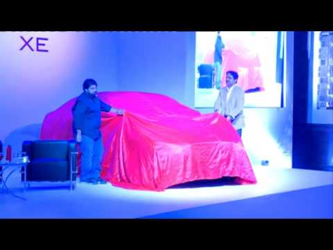 Jaguar XE car unveiling by Kotresh Jali on Jaguar RITZ Entrepreneurship Summit, Chennai
