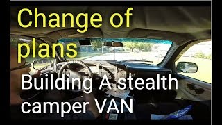 NOT Buying An RV Or Camper| Going To Build A Stealth Camper VAN