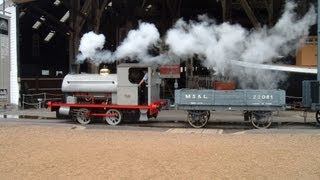 preview picture of video 'Chatham Dockyard Trains'