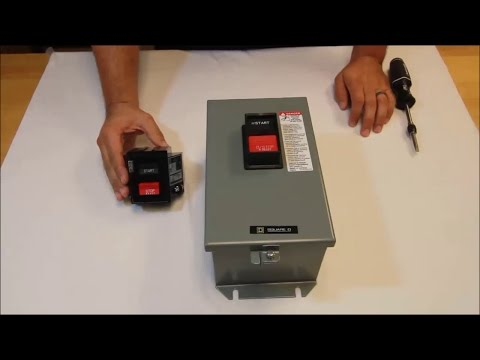 Video: What is the part number for the replacement Power Head  for a 2510 Type M Manual Starter?