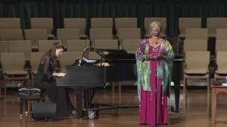 Watch and Pray - A Sacred Song Recital by Angela Brown
