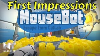 MouseBot - EPIC MOUSE RACING FIRST LOOK COMMENTARY
