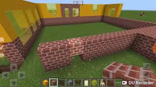 Строим крутой жолтый дом с другом 2#