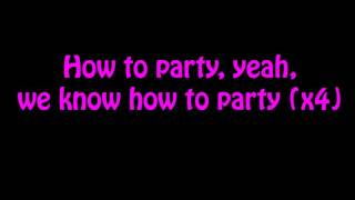 Chris Brown Ft. Usher & Gucci Mane - Party (Lyrics On Screen)