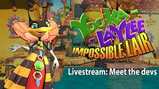 Yooka-Laylee and the Impossible Lair - Meet the devs!