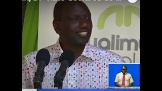 I am ready for audit, DP Ruto declares as he criticizes the media