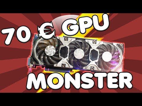 70 Euro MONSTER GRAFIKKARTE - Alle Games in 1080p und 60 fps für nur 70 Euro! GTX 770