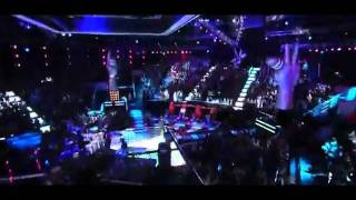 Maroon 5 Ft Christina Aguilera   Moves Like Jagger (Live At The Voice 2011)