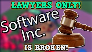 Software Inc  IS A PERFECTLY BALANCED GAME WITH NO EXPLOITS - GAME DEV = Infinite Money Glitch