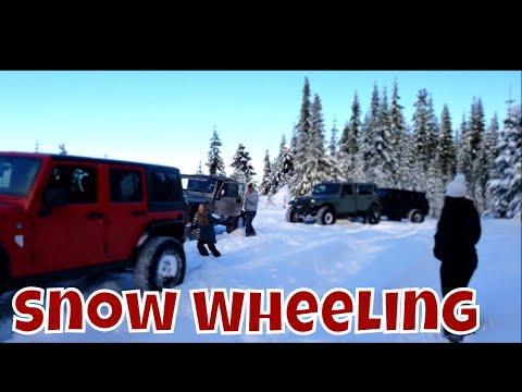 New Years Eve Snow-Wheeling With Linda's Pantry