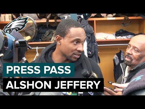 Alshon Jeffery Expecting Trash Talk from D.J Swearinger   Eagles Press Pass