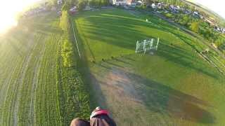 preview picture of video 'Paramotoring - Napajedla, Kudlovice, Topolna-vysilace (Czech Rep.) - GoPro Hero 2 -AUDIO REMOVED-'