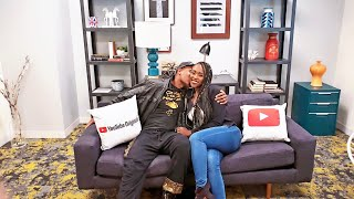 ApnDiva SMOOCHING on the Couch at YOUTUBE STUDIOS Space LA