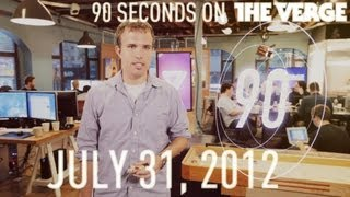 Nexus Q, Zynga, and the new Hotmail - 90 Seconds on The Verge: Tuesday, July 31, 2012 thumbnail