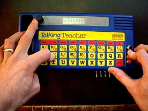 Circuit Bent Coleco Talking Teacher