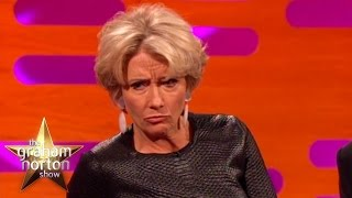 Emma Thompson Disses Arnold Schwarzenegger - The Graham Norton Show